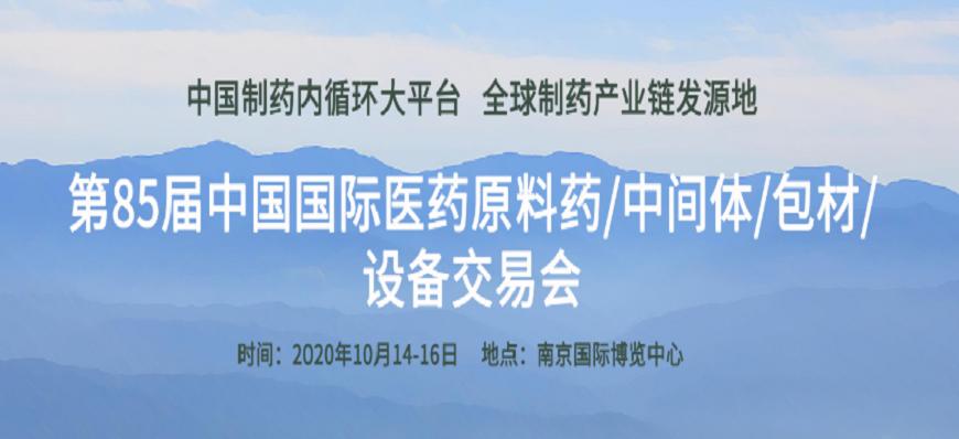 第85届中国国际医药展览会API